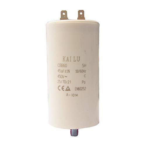 ATIKA Ersatzteil | Kondensator 45µF für Gartenhäcksler ALA/ALH/AMA/ALF/AMF/GHD/LHF/BioQuick