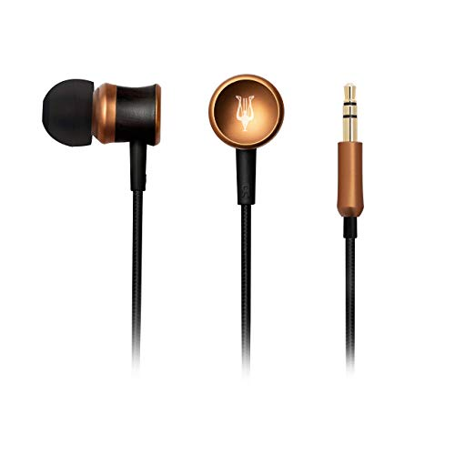 Meze 12 Classics V2 Wired Earbuds | 2021 New Version | Ergonomic Comfort Fit Wired in-Ear Headphones | Noise Isolating Real Wood Premium Earphones | Hard Carry Case | Replaceable Bud Tips | No Mic