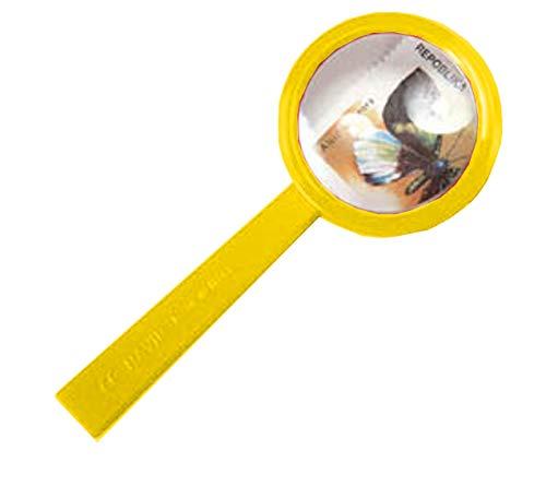 Navir Lupe junior 13,5 x 5,5 cm gelb