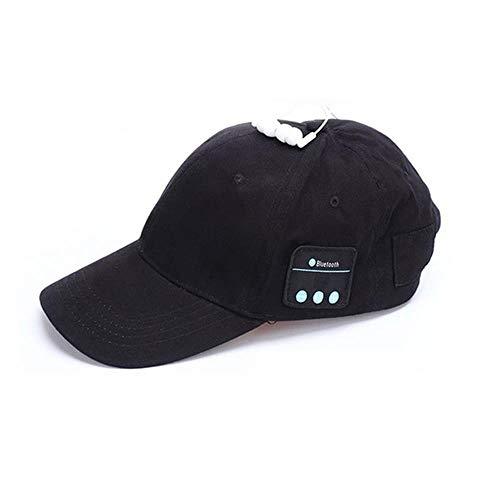 LETAMG Sommer drahtlose Bluetooth V4.0 Kopfhörer Headset Musik Sport Cap Smart Baseball-Mütze mit Freisprech-Mikrofon Kopfhörer Sonnenhut