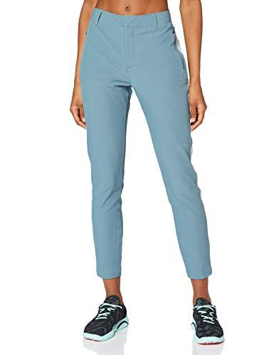 Under Armour Links Ankle Pant Pantalones, Mujer, Azul liquen/Azul esmaltado/Azul Esmalte (424), 8