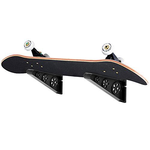 Odoland Portasci a Parete 1 x Paio, Supporto da Parete per Portasci da Snowboard per Uso Multiuso, Supporto da Parete per Ripostiglio per Sci da Casa e Garage, Fino a 110KG