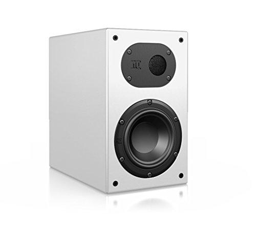 Nubert nuLine 24 Dipollautsprecher | Lautsprecher für Heimkino & HiFi | Musikgenuss auf hohem Niveau | Passive Surroundbox mit 2 Wege Technik Made in Germany | Kompaktlautsprecher Weiß | 1 Stück