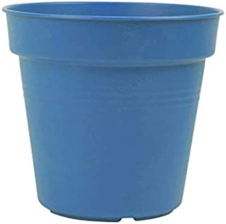 Mintra Plastic Round Pot, 19cm - Light Blue