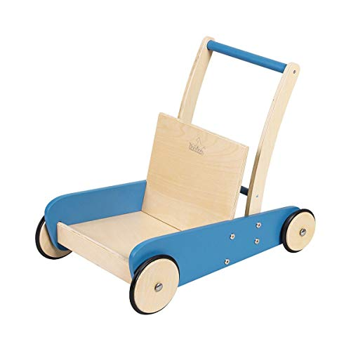 PINOLINO 269422 Mats Chariot d'apprentissage Bleu/transparent