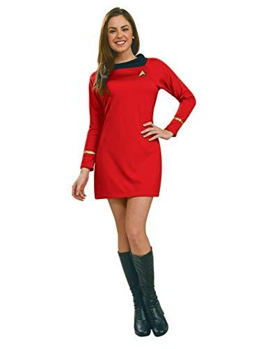 Rubie's Offizielles Star Trek Deluxe Uhura-Kleid für Damen, Größe XS