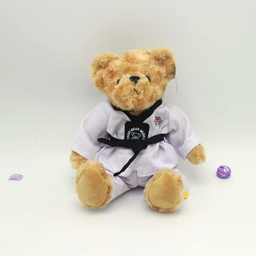 Kreative Taekwondo Wear Plüsch Teddybär Gongzi Kleidung Puppe Kindergeschenk