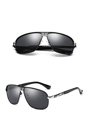 XFSE Gafas De Sol Gafas De Sol Polarizadas Moda Que Conduce Gafas De Sol Cuadradas Gafas de Sol