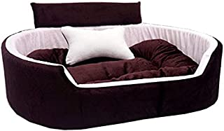 Little Smile Luxurious Bed for Dog and Cat Export Quality,Reversible Super Soft.2