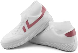Basic Deal Non-Slip Silicone Rain Boot Shoe Cover WaterproofAnti-Slip Resistant Elastic Cover Reusable Foldable Overshoes For Men and Women (Random Colour)