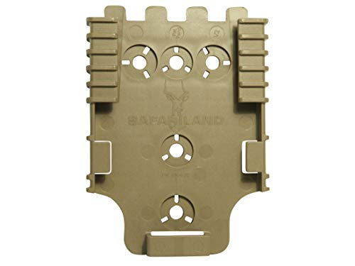 Safariland Unisex's SL6004-22-55 Holster Attachments, Flat Dark Earth, One Size