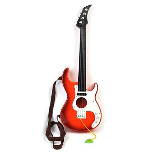 VILLCASE Rojo Instrumento Musical de Juguete de Guitarra para Niños de Juguete...