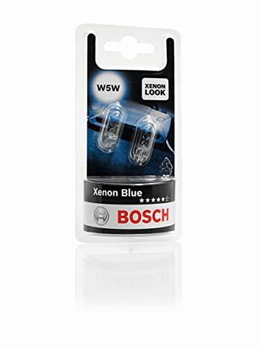Bosch W5W Xenon Blue Lámparas para vehículos - 12 V 5 W W2,1x9,5d - Lámparas x2