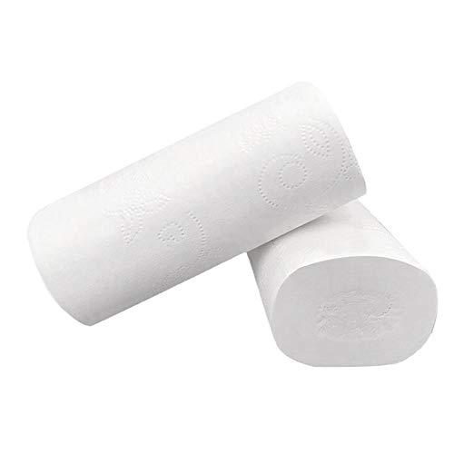 6 Stuks Huishoudelijk Toiletpapier Houtpulp Betaalbaar Rolpapier Tissue Rolpapier Coreless Toiletpapier, Verenigde Staten