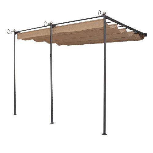 Rowlinson St Tropez Canopy - Gun metal grey, Taupe Canopy