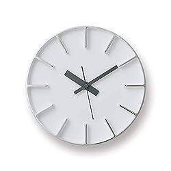 Lemnos Edge S Solid Aluminum Casted Clock