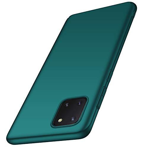 anccer Kompatibel mit Samsung Galaxy Note 10 Lite Hülle [Serie Matte] Elastische Schockabsorption & Ultra Thin Design für Galaxy Note 10 Lite (Kies Grün)
