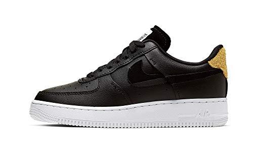 Nike Air Jordan 1 Low, Scarpe da basket da uomo, Nero (Bianca ossidiana vachetta marrone Wh), 41 EU