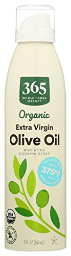 365 by Whole Foods Market, Organic Non-Stick Cooking Spray, Extra Virgin Olive Oil, 5 Fl Oz