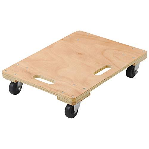 山善 木製平台車(60×45) 4個組 WD-6045*4