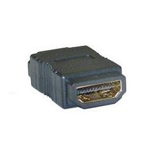 Gimax IMC Hot 4cm long 2cm wide 1cm high Gold Hdmi F/F Female Gender Changer Adapter Coupler
