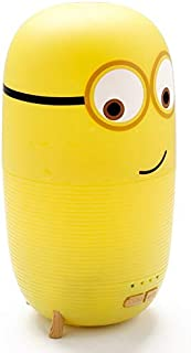 light150ML Aroma Essential Oil Diffuser Minions Mini Ultrasonic Air Humidifier 7 Night Light Changing For Home Bedroom