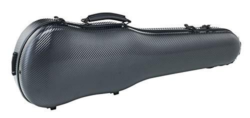 Kadence Violin Fiber Flight Case (Black Metallic)