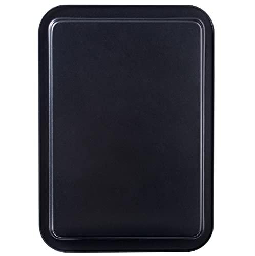 "Amazqi Nonstick Baking Sheet Cookie Pan 19 In – Easy Clean Non Toxic PFOA & PFOS Free – Thick Sturdy Premium Heavy Duty Carbon Steel Sheet Pan (19"" x 13"")"
