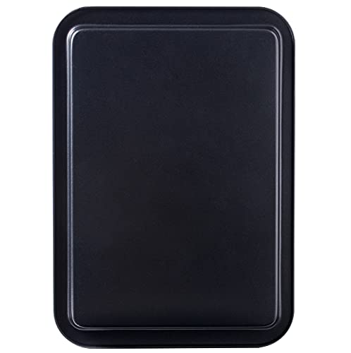 "Amazqi Nonstick Baking Sheet Cookie Pan 17 In - Non Toxic PFOA & PFOS Free Easy Clean Baking Pan - Premium Dishwasher Safe Sheet Pan - Thick Heavy Duty Carbon Steel (12"" x 17"")"
