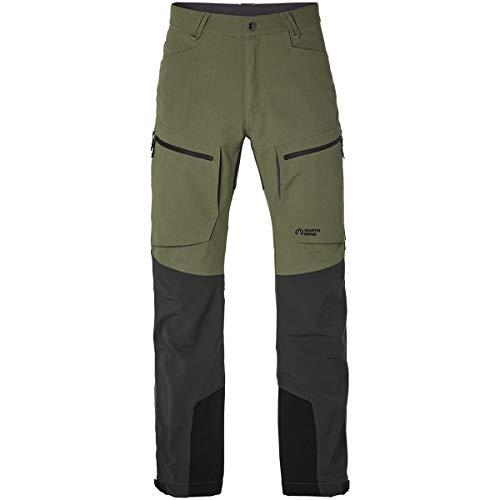 North Bend Trekk Pants - Pantalones de senderismo para hombre, verdes, xx-large