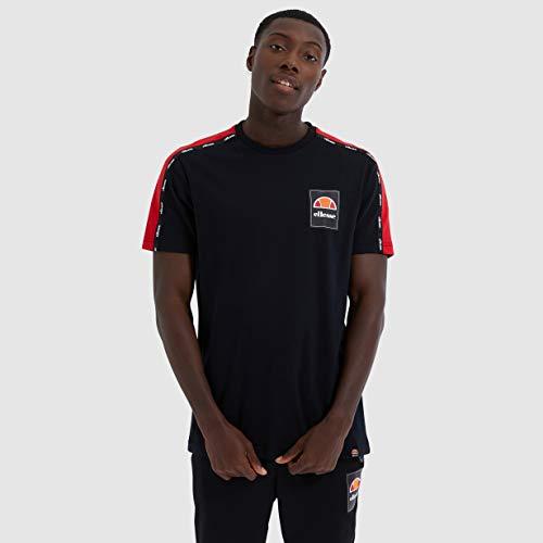 Ellesse Serchio Camiseta, Hombre, Black, s