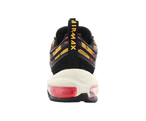 Nike W Air MAX 97 SE, Zapatillas de Atletismo para Mujer, Multicolor (Black/University Gold/Sail 1), 38 EU