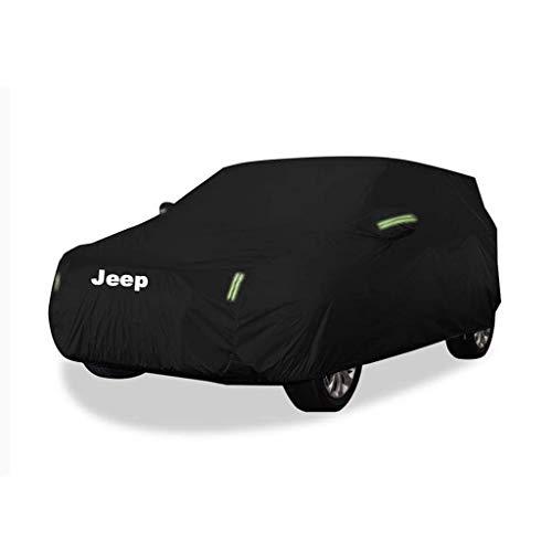 Telo Copriauto Copertura Auto, Jeep Renegade Special Car Cover Spessa Panno Oxford Impermeabile protezione solare antipolvere esterna (Color : Have Signs-Built-in lint)