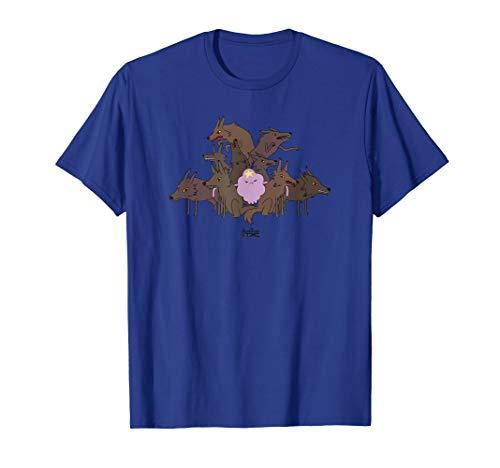 Adventure Time Lumpy Space Princess & Wolves T-Shirt