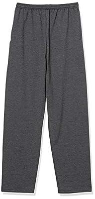 Hanes EcoSmart Fleece Sweatpant with Pocket CHARCOAL HEATHER MEDIUM