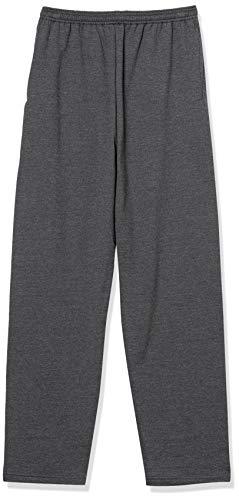 Hanes EcoSmart Fleece Sweatpant with Pocket CHARCOAL HEATHER LARGE