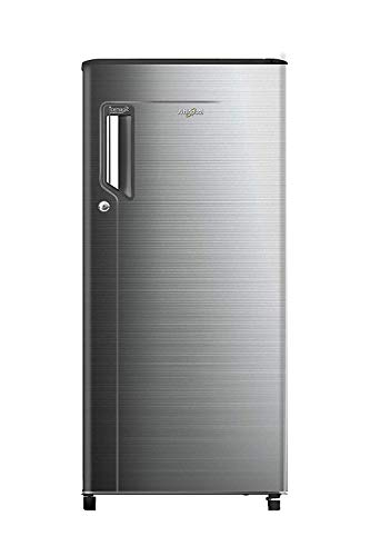 Whirlpool 185 L 3 Star Direct Cool Single-Door Refrigerator (200 ICE MAGIC POWER COOL PRM 3S CHROMIUM STEEL-E, Chromium Steel)