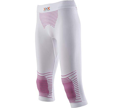 X Bionic Energizer MK2 UW I020282, Pantalon sous-vêtement Thermique pour Femme, Femme, I020282, Bianco/Raspberry, L-XL