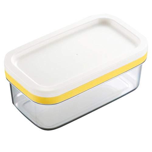 Lembeauty rectangulaire Beurre Boîte à Fromage Plus scellé Boîte de Rangement avec Lisse et Durable de Coupe Net