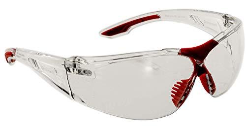 Honeywell SVP 400 Schutzbrille EN 166 - Arbeitsbrille aus Polycarbonat mit Anti Kratz Beschichtung - Klar