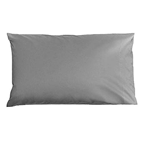 Brooklinen Luxe Pillowcases – Includes 2 Pillowcases with Envelope Closures – 480 Thread Count Cotton Sateen – 100 Percent Long Staple Cotton Pillow Covers – Oeko-TEX Certified – Smoke – King
