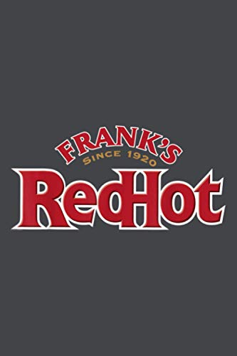 Frank S Red Hot Primary Logo: Notebook Planner -6x9 inch Daily Planner Journal, To Do List Notebook, Daily Organizer, 114 Pages