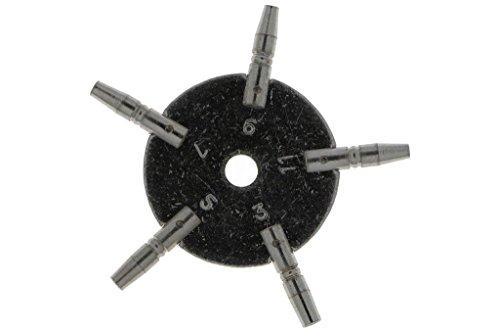 Horlogesleutel voor zakhorloges (3 – 5 – 7 – 9 – 11 – 5 in 1, stersleutel.