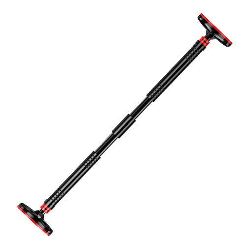 Klimmzugstange Türreck Verstellbar von 65-100 cm Reckstange für den Türrahmen bis 350 Kg Pull Up Stange als Trainingsgerät für zu Hause,S