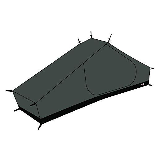 FJÄLLRÄVEN Mesh Inner Tent Lite 1Zubehör für Geschäfte, Unisex Erwachsene, Black, Einheitsgröße