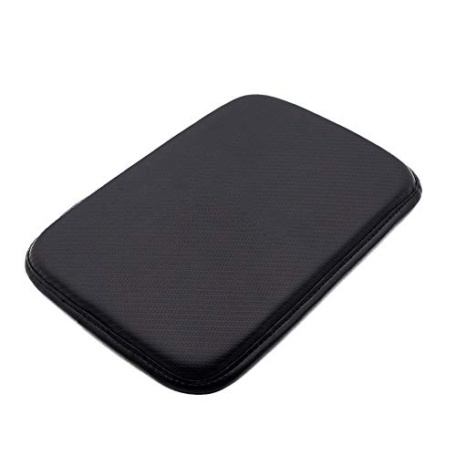 Forala Auto Center Console Pad PU Leather Car Armrest Seat Box Cover Protector Universal Fit
