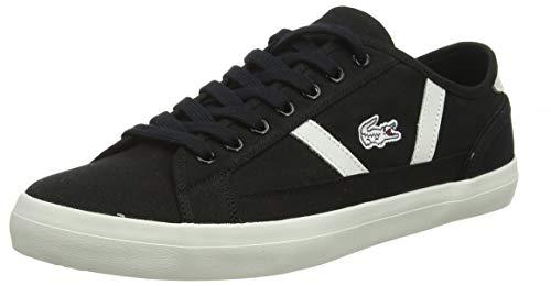 Lacoste Sideline 119 1 CMA, Zapatillas Hombre, Negro (Black/Off Wht 454), 40 EU