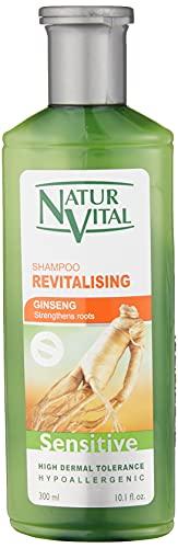 NaturVital Champú Sensitive Revitalizante con Ginseng - 300 ml