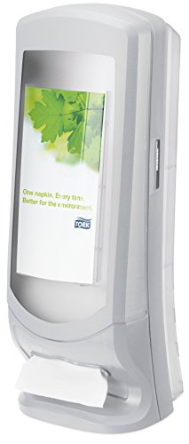 Tork Xpressnap 272213 Dispensador de servilletas vertical / Ideal para restaurantes / Sistema N4 / Gris claro