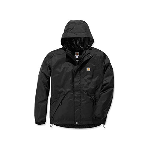 Carhartt Mens Dry Harbor Jacket, Black, L